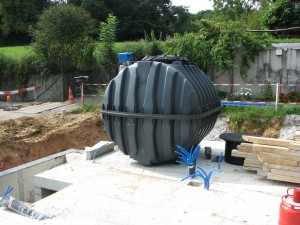 Der Regenwassertank